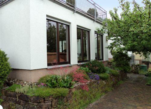 Wohnraumerweiterung Sanierung Anbau Balkon Aussicht ins Grüne Architekt Krüger Linsengericht Gelnhausen